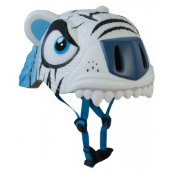 CASCO CRAZY SAFETY WHITE TIGER