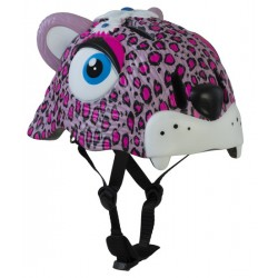 CASCO CRAZY SAFETY PINK LEOPARD
